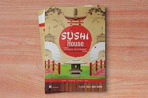 Menu Template - Sushi