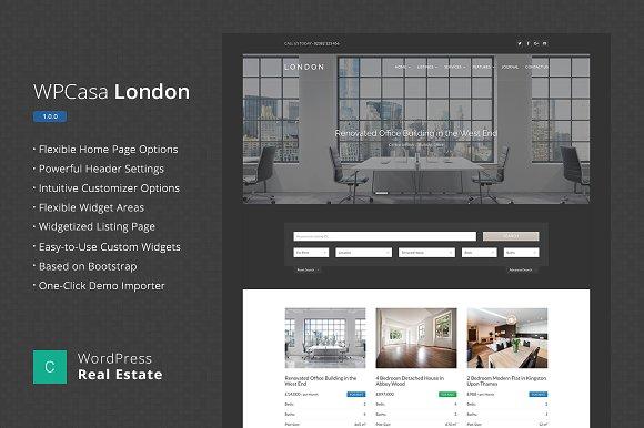 Real Estate WordPress WPCasa London