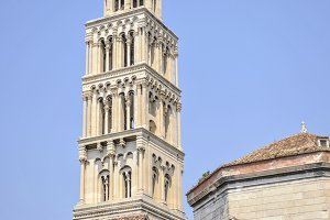 Bell tower of St. Duje cathedral