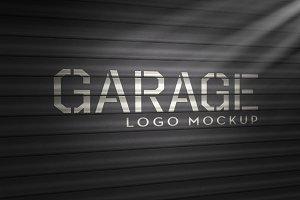 Logo Mockup Garage