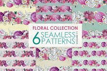 Floral Pattern Collection Vol. 11