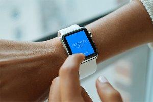 Ultra realistic Apple Watch mockup