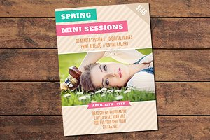 Spring Mini Session Card