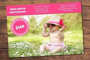 Summer Mini Session Card