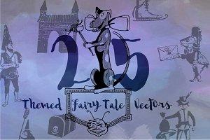 25 Fairy Tale Vectors