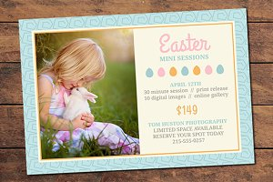 Easter Mini Session Card