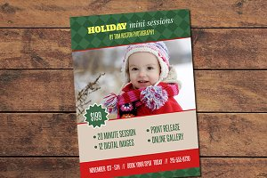Holiday Mini Session Card