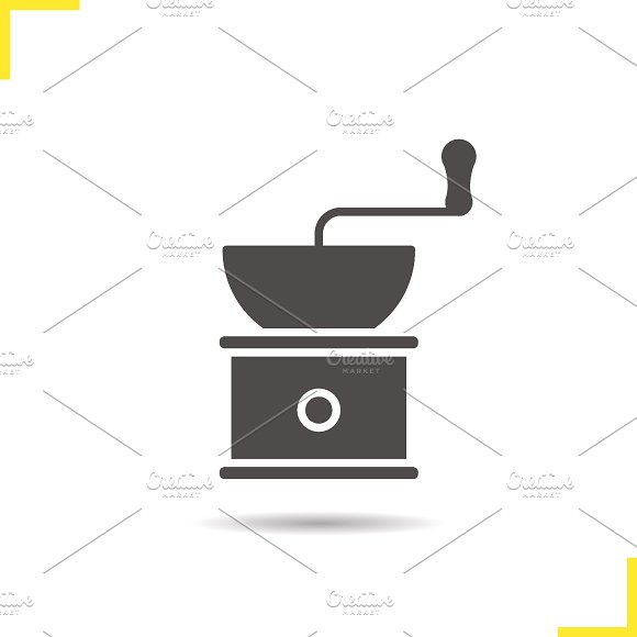 Coffee grinder icon. Vector - Icons