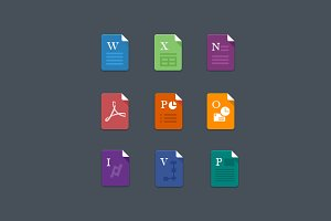 Office File Icons