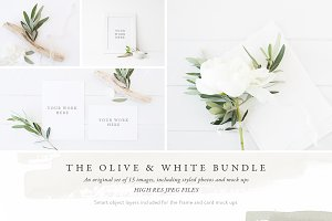 The Olive & White Bundle - 15 photos