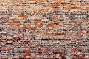 Brick wall texture vintage