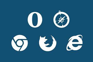 Outline Browser Icons
