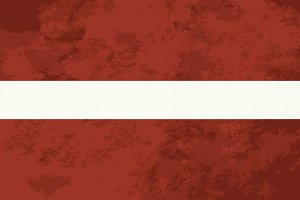 True proportions Latvia flag