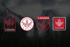 Maple Leaf Icons & Posters
