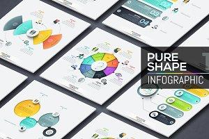 Pure Shape Infographic