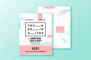Event or Party Invitation Template