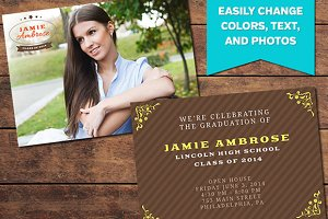 Achieve Graduation Announcement