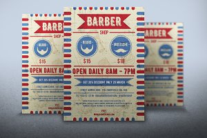 Flyer Barber Shop