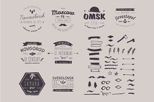 6 Hand Drawn Style Logos.