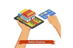 Mobile supermarket internet commerce