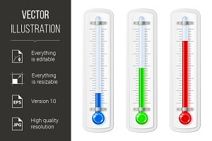 Temperature indicators