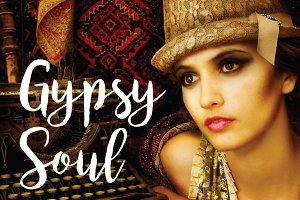Gypsy Soul Vintage Fashion Photo