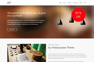 Joy Multipurpose WordPress Theme