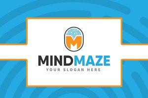 Letter M Logo - MindMaze