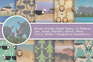 African Animal Patterns