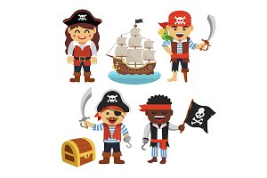 Pirate kids rascals