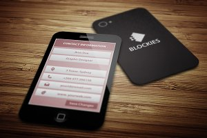 Smart Phone Business Card V.4