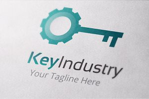 Key Industry Logo Template