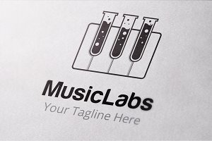 Piano Labs Logo Templates