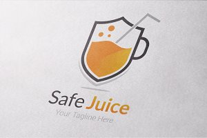 Safe Juice Logo Template