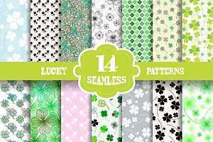 Lucky Patterns with Fourleaf Clovers