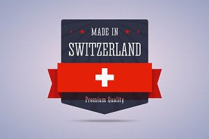 Made in Switzerland badge