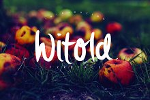Witold Script Typeface