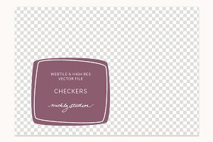 VECTOR & PSD Checker tile & pattern