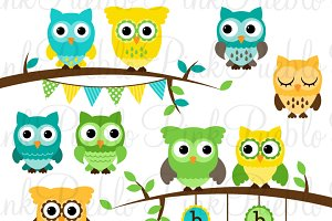 Gender Neutral Baby Shower Owls