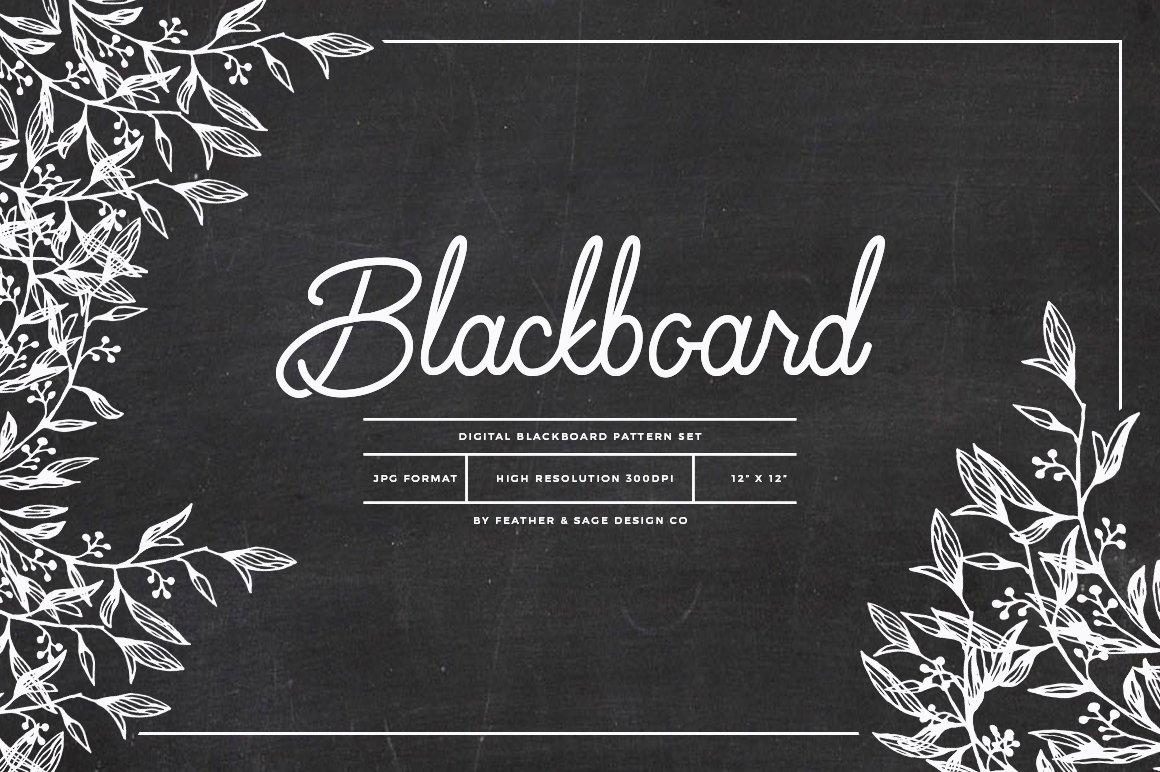 Blackboard Background Set Pre Designed Photoshop Graphics Creative Market