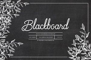 Blackboard Pattern Set