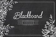 Blackboard Background Set