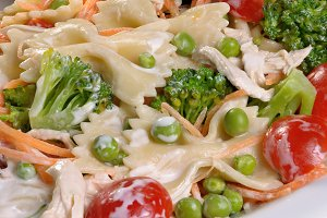 ranch pasta salad