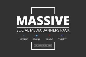 Massive Social Media Pack