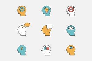 Human thinking process