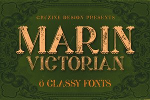 Marin - Victorian Font