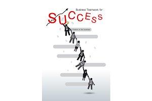 Business teamwork for success