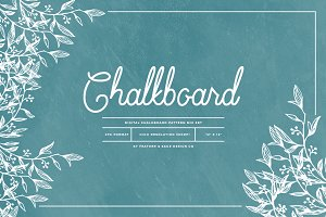 Chalkboard Pattern Mix Papers