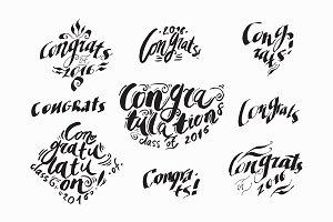 №141 Calligraphy congratulations