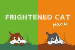 Frightened cat pack